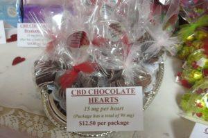 CBD Chocolate Hearts