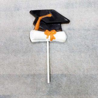 Chocolate Graduation Hat Lollipop