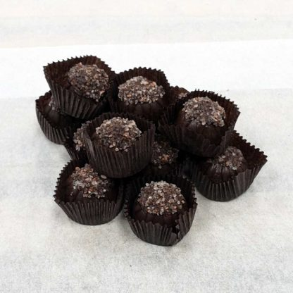 Dark Chocolate Sugar Free Sea Salt Caramels