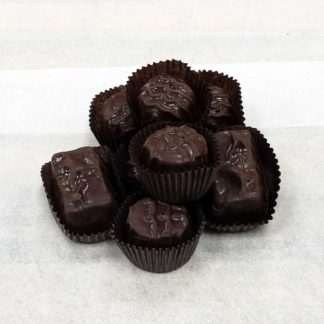 Sugar Free Dark Chocolate Caramels